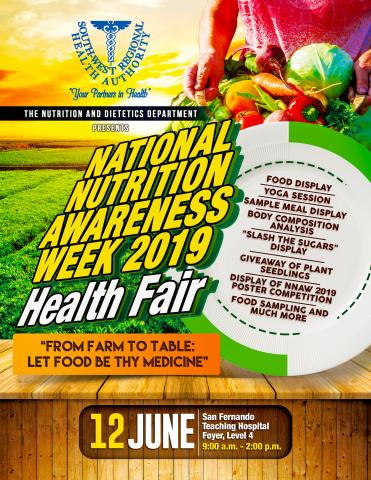Brilliant National Nutrition Awareness Week 2019 Health Fair South Home Remodeling Inspirations Gresiscottssportslandcom