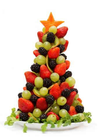 Fruit Christmas Tree Image